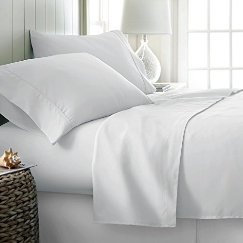 TRP SHEETS Hotel Quality 1000 Thread Count 100% Egyptian Cotton Duvet Cover With 2 Pillow Shams Premium 1000TC 3PC Duvet Set White Solid (UK King, White)