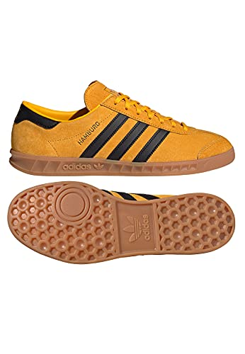 adidas Hamburg, Scarpe, Reyel/Black/Gold, Taglia 10 UK (44 2/3 EU)