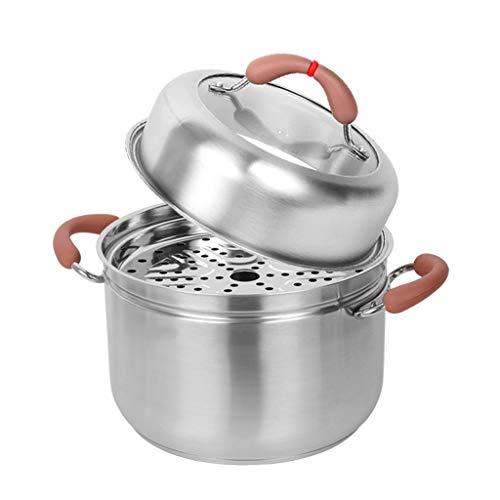 SHUUY Multi-función de Vapor de Acero Inoxidable de Vapor Pot Baterías de Cocina for cocinar en Barcos de Vapor de la Caldera Herramientas de Cocina de inducción