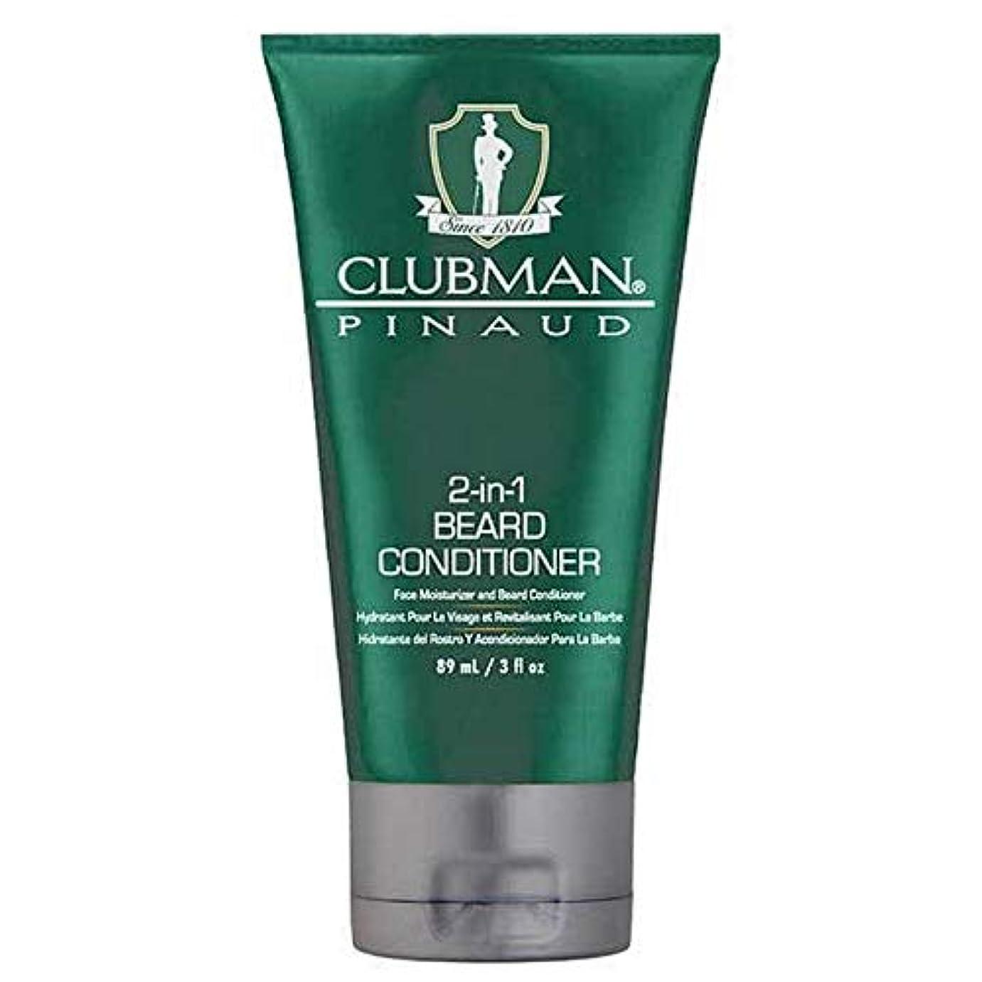 宣言爆発する司教[Clubman ] クラブマン2-In-1髭コンディショナー89ミリリットル - Clubman 2-in-1 Beard Conditioner 89ml [並行輸入品]