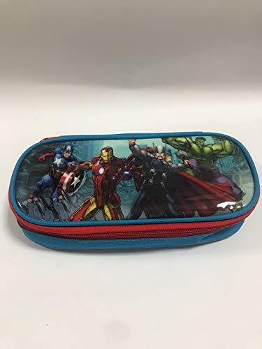 Avengers astuccio portapenne ovale con cerniera + KIT SCUOLA