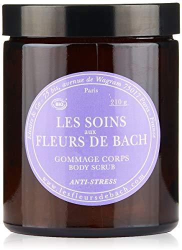 Les Soins aux Fleurs de Bach - Gommage Scrub pour le corps - Anti Stress - 210 gr