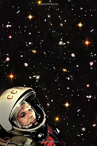 Yuri Gagarin: Notebook, 100 Lined Pages, 6x9