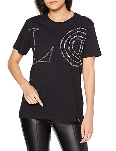 Desigual TS_Paris Camiseta, Negro (Negro 2000), X-Small para