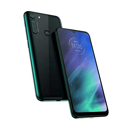 Motorola One Fusion 64GB XT2073-2, 4GB RAM, 48MP Camera, Qualcomm Snapdragon 710 LTE Factory Unlocked Smartphone - International Version (Emerald)