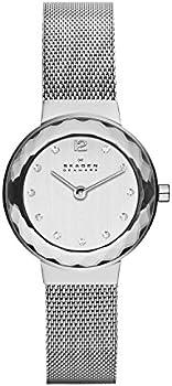 Skagen Women's Leonora Steel-Mesh Quartz Watch