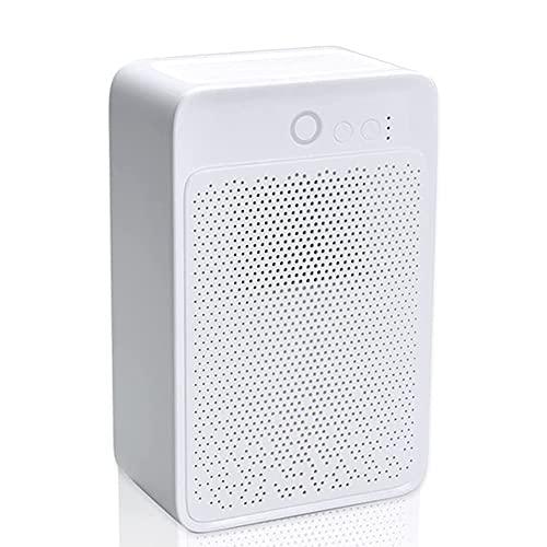 HBBOOI Deumidificatore Deumidificatore Elettrico Portatile da 900 Ml per La Casa, Il Bagno, Ultra Silenzioso, Spegnimento Automatico