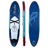 InChengGouFouX Tabla De Sup Hinchable Mar Lago Inflable de pie Tabla de Surf Sup 330x76x15cm Incluyendo 6 Accesorios Touring Ligero Y Duradero (Color : Blue, Size : 330x76x15cm)