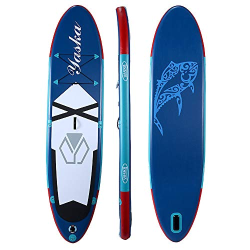 Tabla Paddle Surf Hinchable Inflables Stand Up Paddle Sup Juntas for Todos los Niveles 6 Accesorios Piezas Incluidas 330x76x15cm Stand up Paddle Board (Color : Blue, Size : 330x76x15cm)