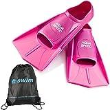 Aqua Speed Set High Tech Pinne di Nuoto Brevi per Adulti e Bambini + ULTRAPOWER® #Swim Za...