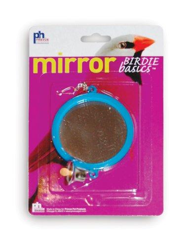 Prevue HENDRYX Birdie Basics 2-zijdige spiegel met Bell vogel speelgoed