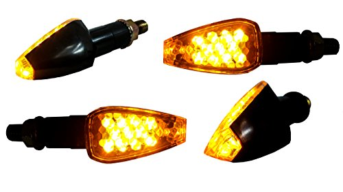 OZ-USA 4X Turn Signal LED Dual Sport Motorcycle Dirt Bike Supermoto Light Blinker
