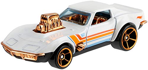 Hot Wheels 2020 Pearl and Chrome 5/6 - Corvette Gas Monkey Garage (blanco)