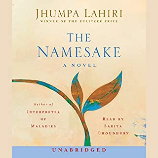 The Namesake audiobook cover art