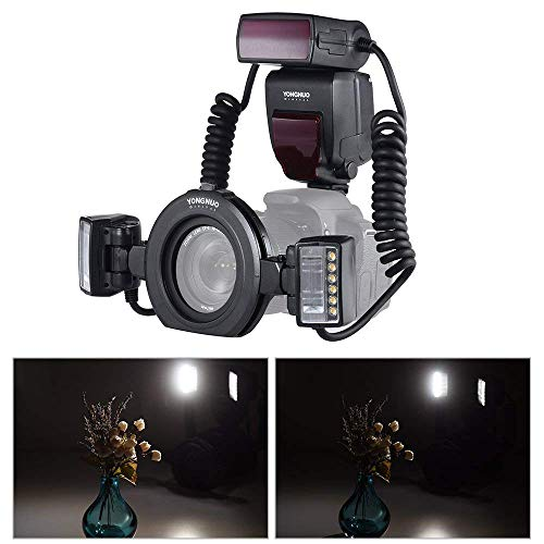 MeterMall, Anelli adattatori per Flash Yongnuo YN24EX E-Ttl ro Flash Speedlite 5600K per Fotocamere Canon EOS 1Dx 5D3 6D 7D 70D 80D