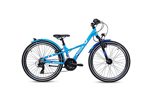 S'cool XXlite Alloy 24 21-S Kinderfahrrad Jugendrad Blue/Deepblue 7266