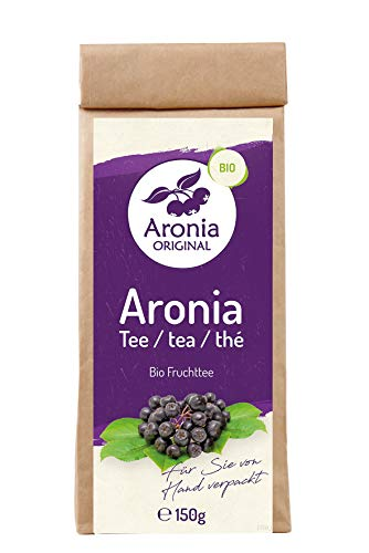 Aronia Original Bio Aronia Spezialtee (100% Aroniatrester), 1er Pack (1 x 150 g)