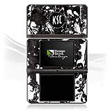 DeinDesign Skin kompatibel mit Nintendo DSi XL Folie Sticker Karlsruher SC Offizielles Lizenzprodukt KSC
