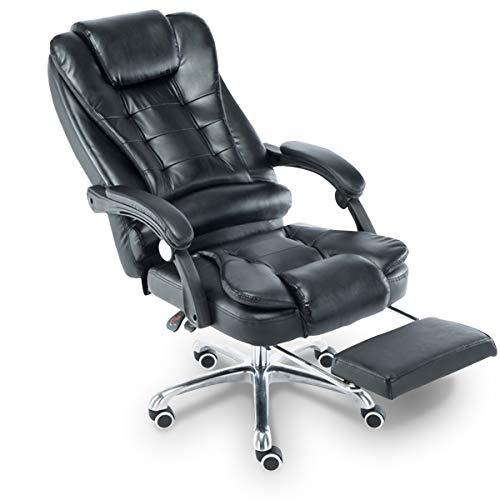 Cadeira para Escritório Giratória com apoio para os pés- Lenharo