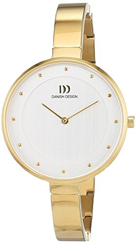 Danish Design dames analoog kwarts horloge met titanium armband 3326609