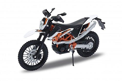 DieCast Modell Motorrad KTM 690 Enduro R Orange Metall Welly Motorradmodell 1:18