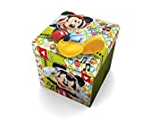 Star  Disney Mickey Mouse & Friends Art. Code- 54671 - Pouf con Cuscino Stampato, Dimensio...