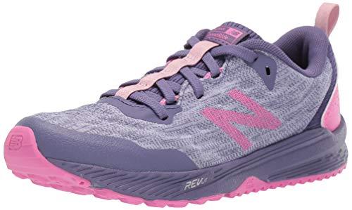 New Balance Kid's FuelCore Nitrel V5 Running Shoe, Clear Amethyst/Violet Fluorite/Light Carnival, 6.5 W US Big Kid