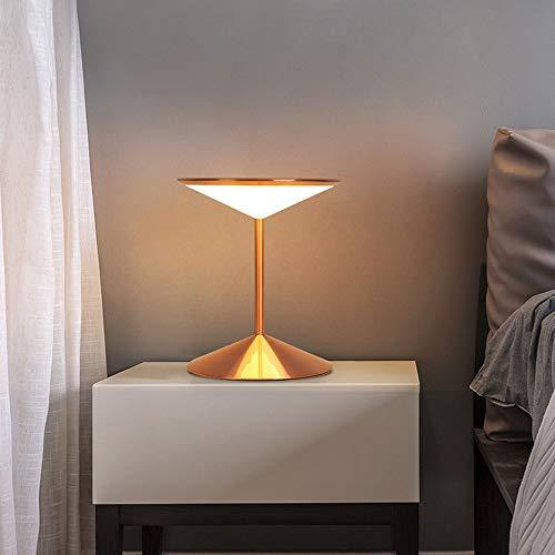 L.W.S Lámpara de Escritorio Lámpara Tres lámpara de Oro Rosa pálido Claro Minimalista Moderno nórdico Hierro artesanía Personalidad Personalidad Sala de Estar Dormitorio decoración de Noche 30 * 30 *