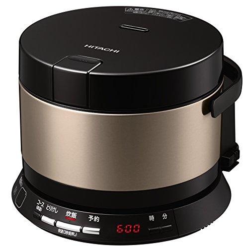 日立 炊飯器 2合 IH式 おひつ御膳 コンパクト&シンプル 打込鉄釜 RZ-WS2M N
