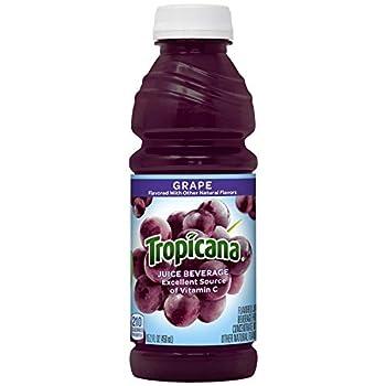 Tropicana Juice Drink Grape 182.4 Fl Oz  Pack of 12