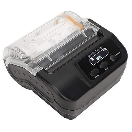 Pomya Bluetooth thermoprinter, USB bluetooth-label, met OLED-display, bluetooth-thermoprinter, EU.