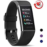 MorePro X-Core Fitness Trackers, Upgraded Waterproof Activities Trackers with Blood Pressure Heart Rate Monitor Sleep Monitor and Smart Notification