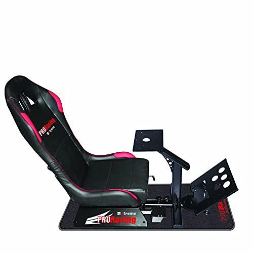 Xtreme 90450 Sedile Racing con Supporto Cambio, Pedaliera e Volante, Compatibile con Tutte le Console, Playstation 4