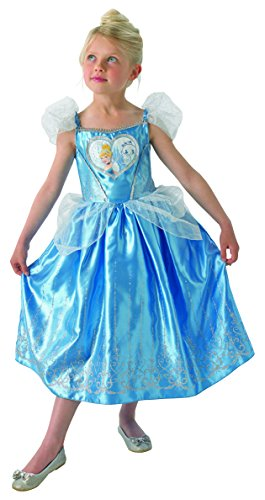 Disney - i-610275s - disfraz para nios - lujo amor del corazn de cenicienta - talla s