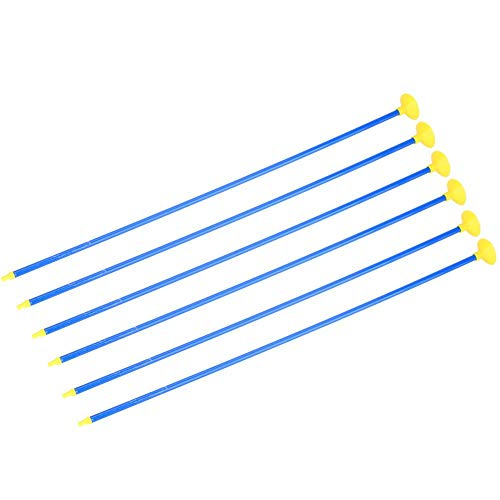 VGEBY1 Toy Arrows, 6pcs Children Sucker Arrows para Juego de Deportes de Tiro con Arco al Aire Libre