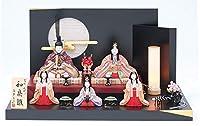 雛人形 木目込み人形 真多呂作 2021年 和泉雛5人飾り 段飾り