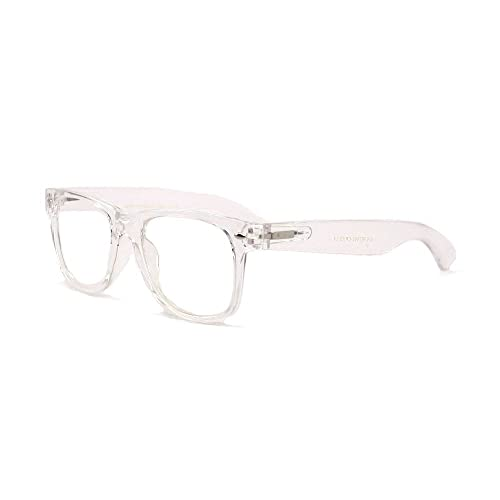 341295fb9afa White Clear Reading Glasses - Comfortable Stylish Simple Readers Rx  Magnification