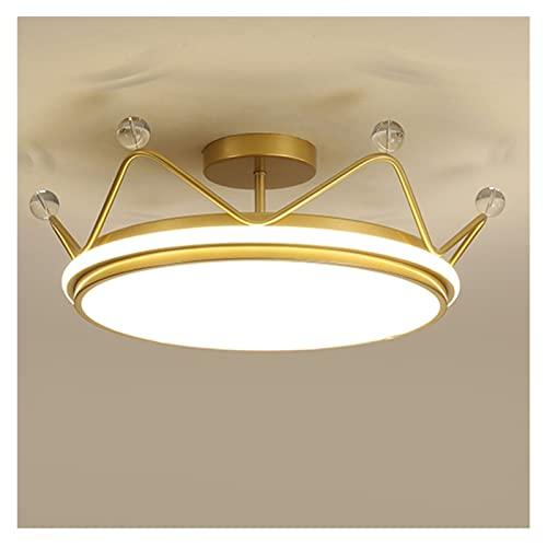 Lámpara de Techo Moderna corona colgante luz de lujo grande DIRIGIÓ Iluminación colgante de techo romántico for la habitación de las niñas, sala de estar y hotel Sala de Estar de la Lámpara de Techo