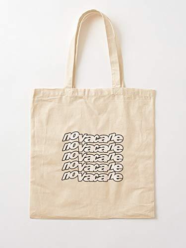 Bucal Ocean Novacane Novocain Frank Canvas Tote Umhängetasche Stylish Shopping Casual Bag Faltbare Reisetasche