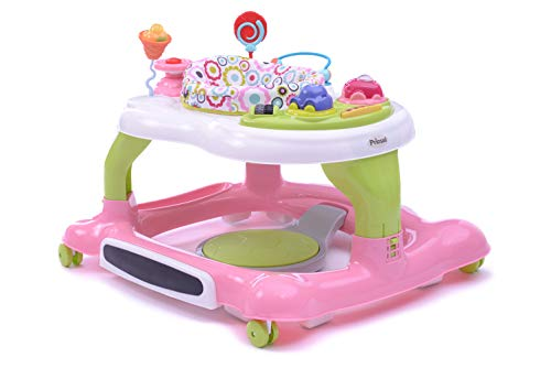 Prinsel Andadera Multiactivity 3 en 1, color Rosa