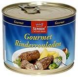 'Simon' - Gourmet-Rinderrouladen in feiner Sauce 500gr-Ringpull-Dose