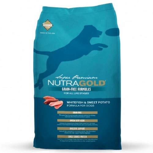 Nutra Gold Holistic pienso para perros sin grano con Pescado Blanco 13,6 kg