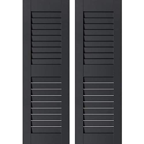 OUTDOOR PLAY AND STORAGE SHED SHUTTERS - 9'X36' (Black)