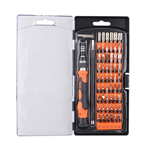 ILS 58 in 1 Schraubendreher Set Reparatur Kit Multi-Bit Demontage Werkzeuge für PC Tisch Smartphone