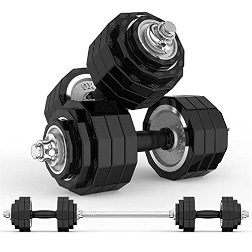 Mancuernas galvanizadas para el hogar, equipo de fitness con pesas de mano, juego de mancuernas ajustables para hombres, juego de mancuernas de salud (color: 30 kg (15 kg x 2))