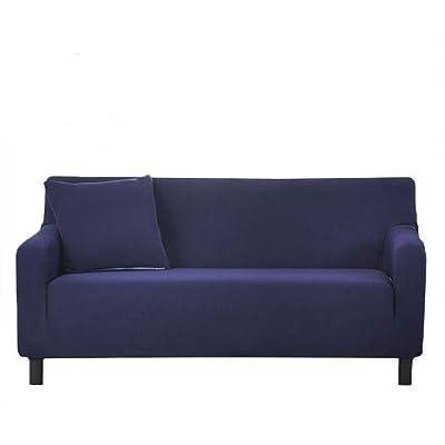 ColorBird Spandex Fabric Sofa Slipcovers Solid ...