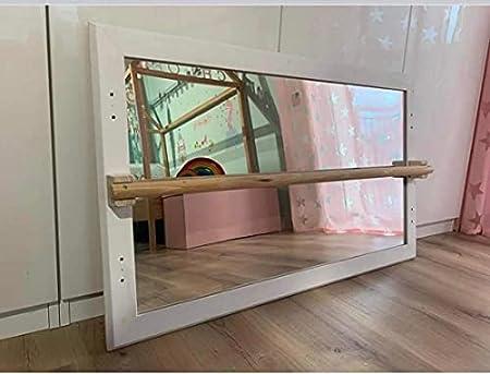 Montessori-Spiegel mit Stange