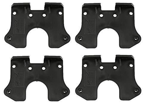 FKAnhängerteile 4 x Flatpoint 2 - Halter 90°,Z'-Form - Aspöck Nr. 15-5321-107