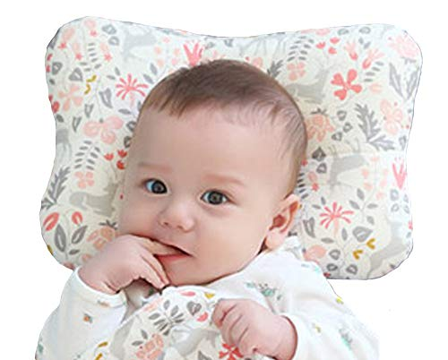 W WelLifes Baby Pillow for Newborn Breathable 3D Air Mesh Organic Cotton,...