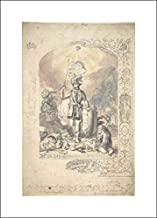 Anonymous Artist, British, 19th Century - 14x20 Art Print by Museum Prints - Design for The Ancient Order of Foresters: Unity, Benevolence and Concord